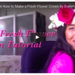 Video | DIY Fresh Flower Crown Video