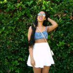Summer Favorites: Crop Top x Skater Skirt