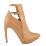 Penny Loves Kenny Event Nude Mat pointed toe heels boots booties