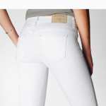 True Religion CHRISSY SUPER SKNNY WHITE WOMENS JEAN