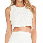 tularosa beau lace embroidered crop top ivory white revolve clothing