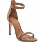 Joie Abbot heel brown nude sandals cement color