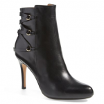 halogen 'Rachel' black Ankle Boot (Women)