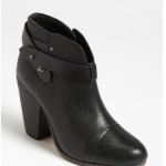 Rag & bone 'Harrow' black Leather Boot