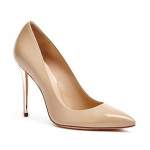 GUESS amy pump coco butter beige nude Leather pump Pointed toe 4 inch heel