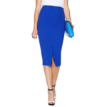 Nasty Gal naomi blue pencil skirt
