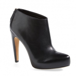 nordstrom Sam Edelman 'Keaton' Hidden Platform black leather Bootie