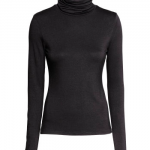 h&m black long sleeve turtleneck