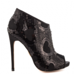 Betsey Johnson Marah Black Sequin