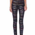 NBD X Revolve Clothing Beaded Sequined Black Legging