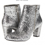 BCBGeneration Womens Charm booties silver