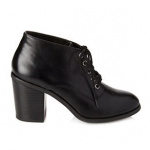 Forever 21 Black Lace-Up Ankle Boots