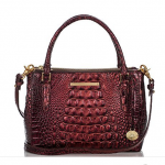 Brahmin Lincoln Crossbody Ember Melbourne Red