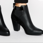 ASOS ELEVENTH HOUR Black Ankle Boots