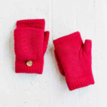 Urban Outfitters Pink Plush-Lined Convertible Glove
