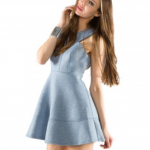 Fevrie The Sweater Dress Blue