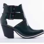 Solestruck Venus Green Leather Boots