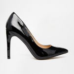 Asos Black Patent Truffle Collection Nova Pumps