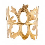 Laura Elizabeth Jewelry Courtenay Gold Cuff