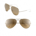 Nordstrom Ray-Ban Gold 'Large Original Aviator' 62mm Sunglasses