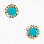 Kate Spade New York Turqoise SECRET GARDEN STUDS