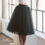 Space 46 Boutique The Wendy Black Tulle Skirt