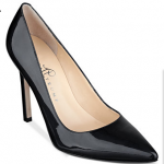 Macys Ivanka Trump Carra Black Patent Leather Pumps