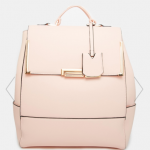 Asos Pink New Look Flip Lock Backpack