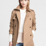 Banana Republic Brown Beige Swing Trench