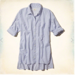 Hollister Imperial Beach Shirt Blue Stripe