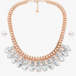 Ted Baker EMARI Tear drop crystal necklace