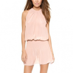 Shopbop Ramy Brook Blush Pink Paris Sleeveless Dress