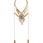 HM Multistrand Gold Necklace
