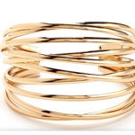 Windsor Gold Criss-Cross Cuff