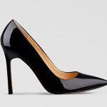 Bloomingdales IVANKA TRUMP Black Pointed Toe Pumps - Carra High Heel
