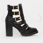 Asos Report Signature Ashtin Multi Buckle Ankle Boots