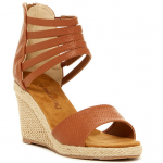Nordstrom Rack Brown BEARPAW Calla Wedge Sandal
