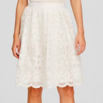 Lucy Paris White Midi Skirt - Bloomingdale's Exclusive Lace