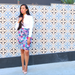 I love my: Floral Pencil Skirt