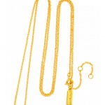 BaubleBar Gold Braid Chain