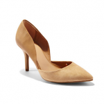 Hip Hugging Denim - New York & Company TEXTURED FAUX-SUEDE D'ORSAY PUMP