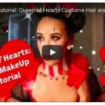 Video | Queen of Hearts Halloween Costume Hair and MakeUp Tutorial