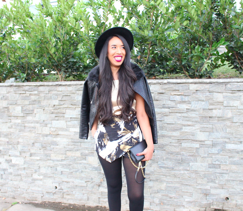 New Years Eve Party Outfit: The Little Black Hat