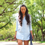 From Day to Night: Two ways to wear a denim dress