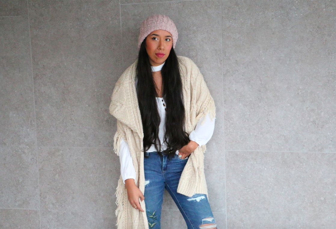 Conquering the Cold with an Oversized Beanie 10