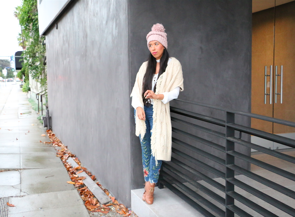 Conquering the Cold with an Oversized Beanie 42