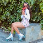 Roller Skating In a Cute Outfit